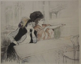 Forteir and Marotte Lithograph - by legrand