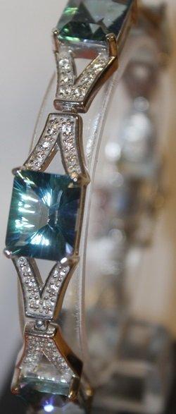 Elegant Topaz Bracelet
