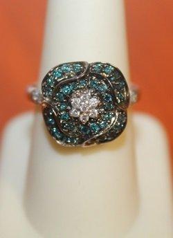Unique Flower Ring