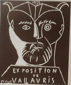 1955 Vallavris Lithograph - Picasso (2)