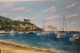 Avalon Bay - Lithograph - By Michael Lavery