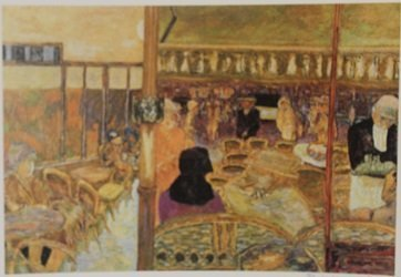Cafe - Signed Lithograph - By Bonnard