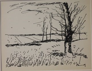 The field - Lithograph by valmark