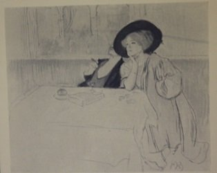 After Dinner - Lithograph - by legrand