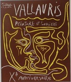 Vallavris Anniversaire Lithograph - Picasso