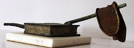 Limited Edition Patina Bronze Sculpture - Salvador Dali