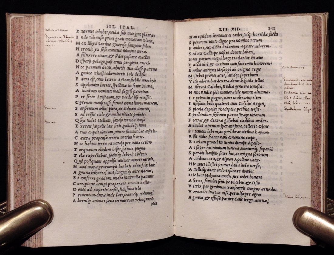 [Aldine Press]  Silius Italicus. De Bello Punico…. - 7