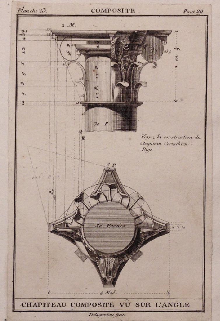 [Architecture]  Elementaires… L'Architecture, 1797