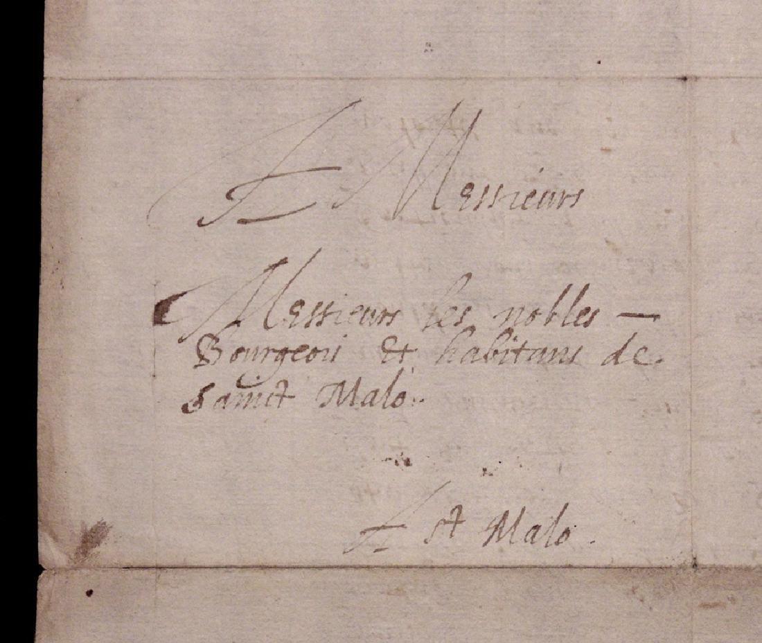 Charles de Montmorency-Damville, Signed Letter