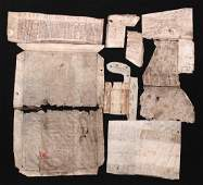 Collection of 13th-15th c. manuscript fragments