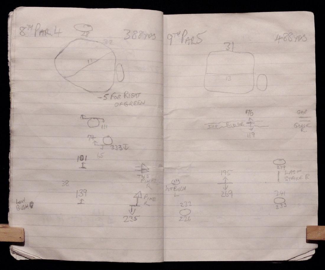 [Golf: Ballesteros, Arnold Palmer] Caddy's Notebook - 2