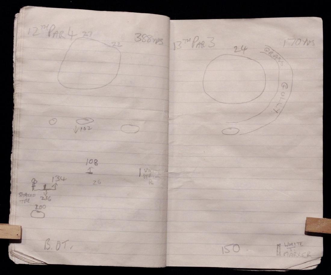 [Golf: Ballesteros, Arnold Palmer] Caddy's Notebook - 3