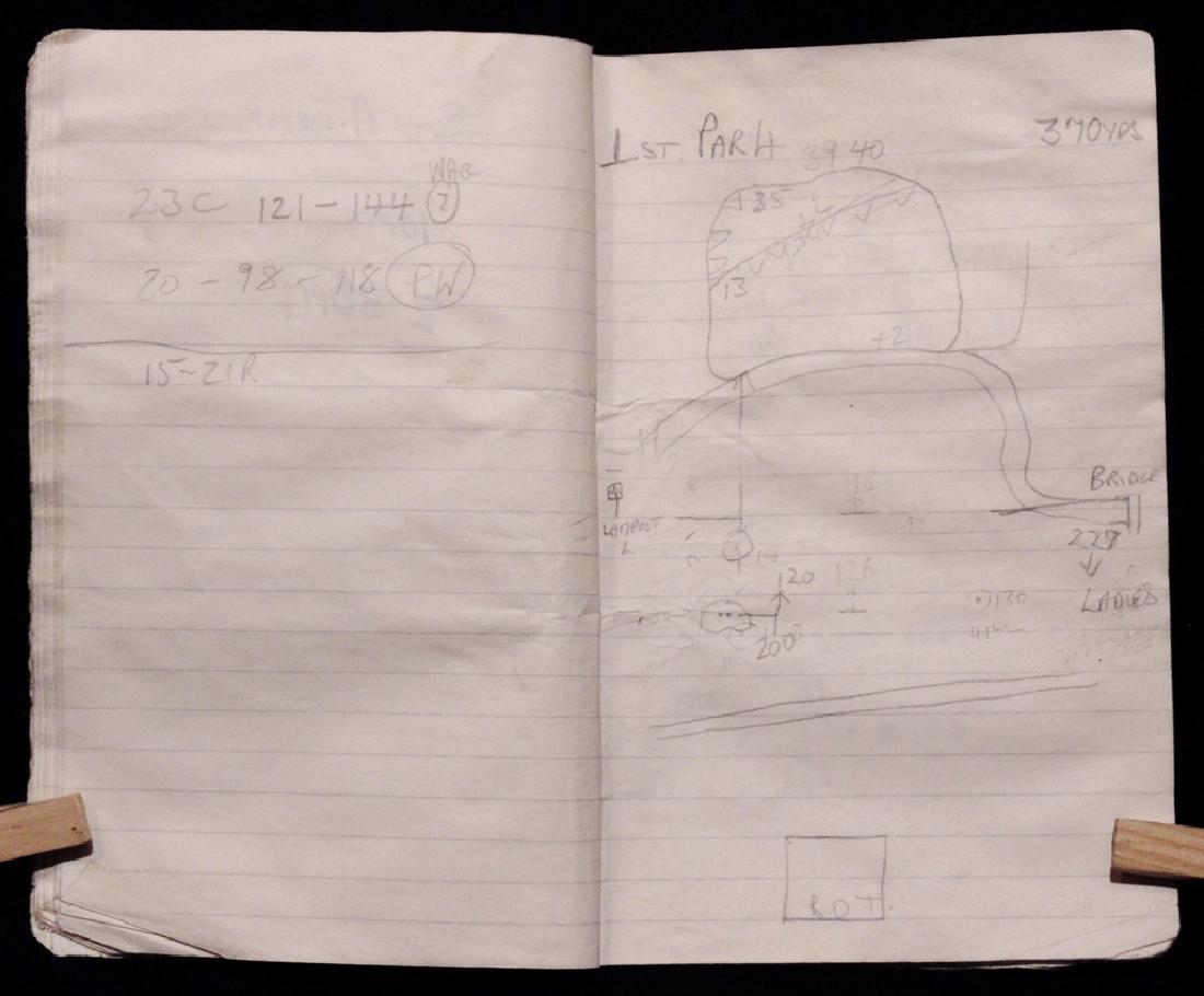 [Golf: Ballesteros, Arnold Palmer] Caddy's Notebook - 4