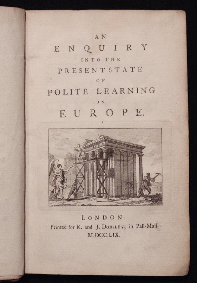 Goldsmith on Polite Learning in Europe