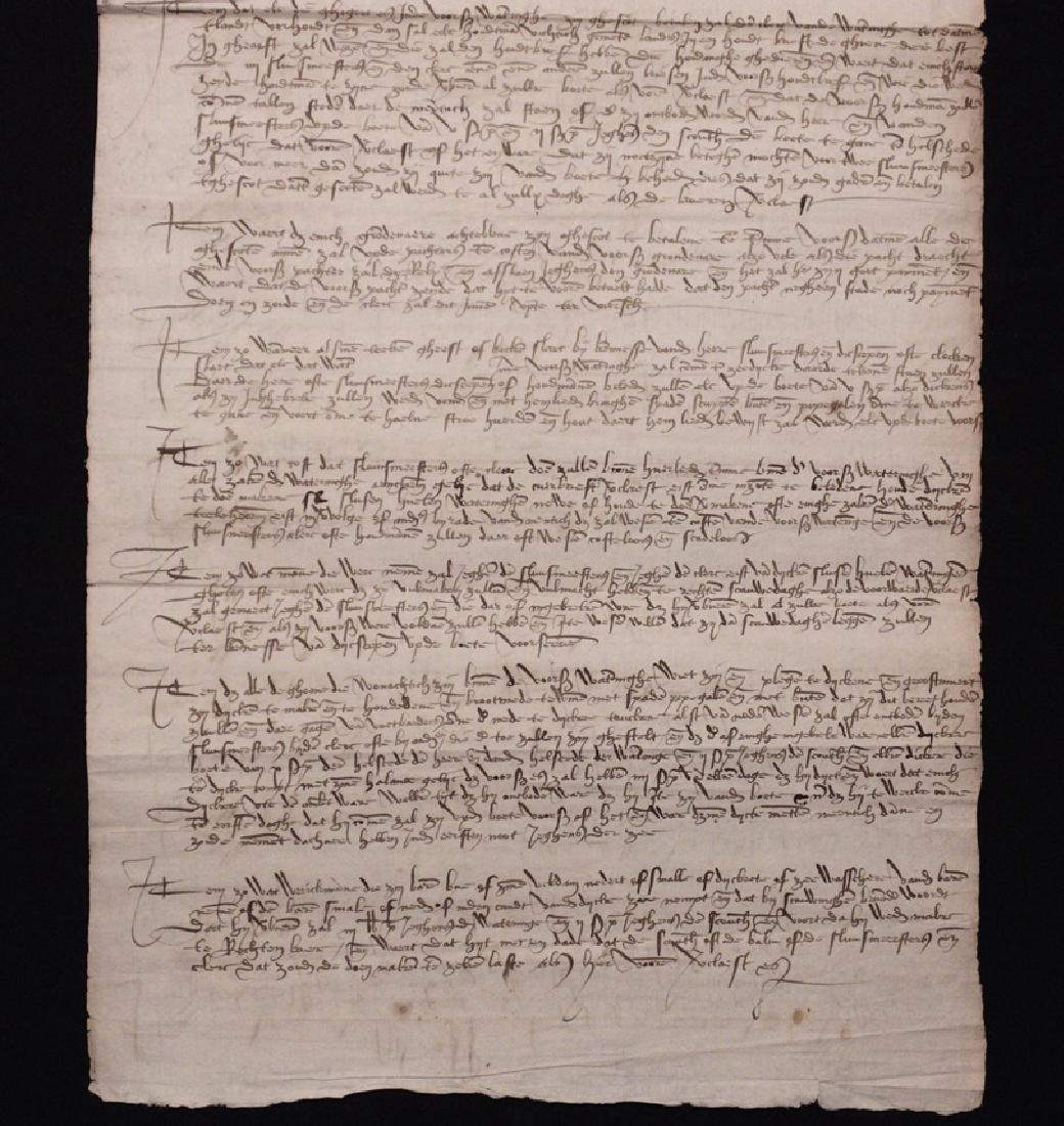 [15th c. Dutch Flood Management]  Manuscript - 4