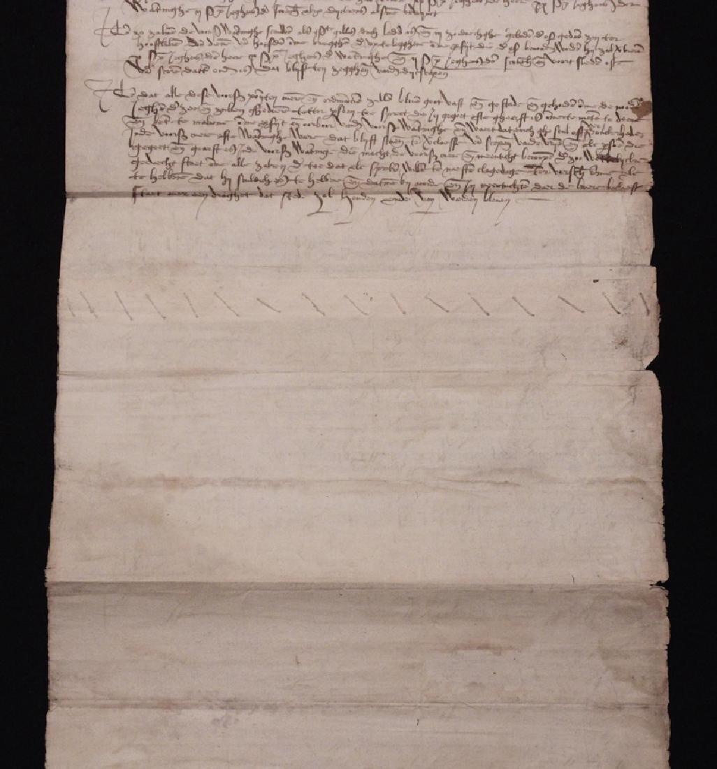 [15th c. Dutch Flood Management]  Manuscript - 6