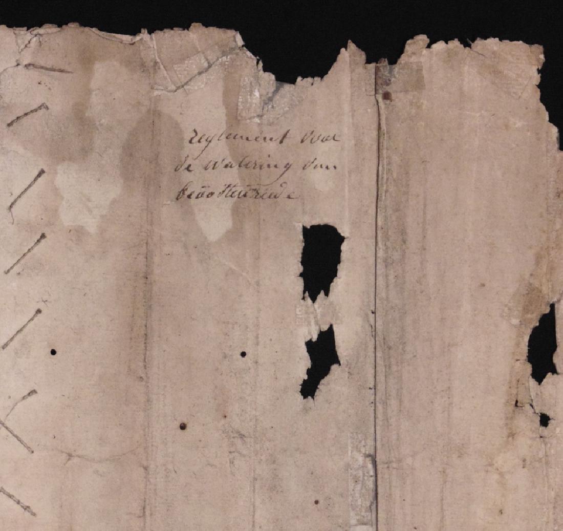 [15th c. Dutch Flood Management]  Manuscript - 7