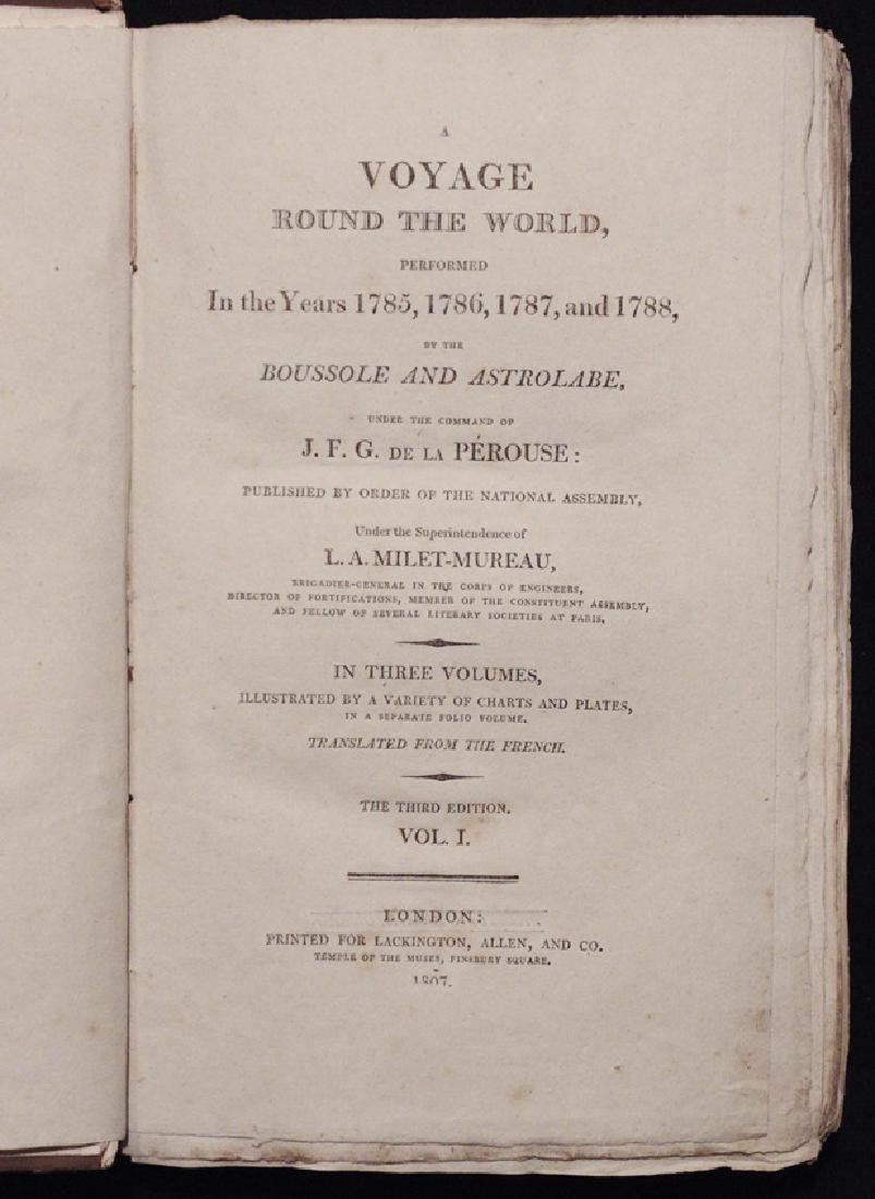 [Exploration, California] La Perouse's, Voyage - 3
