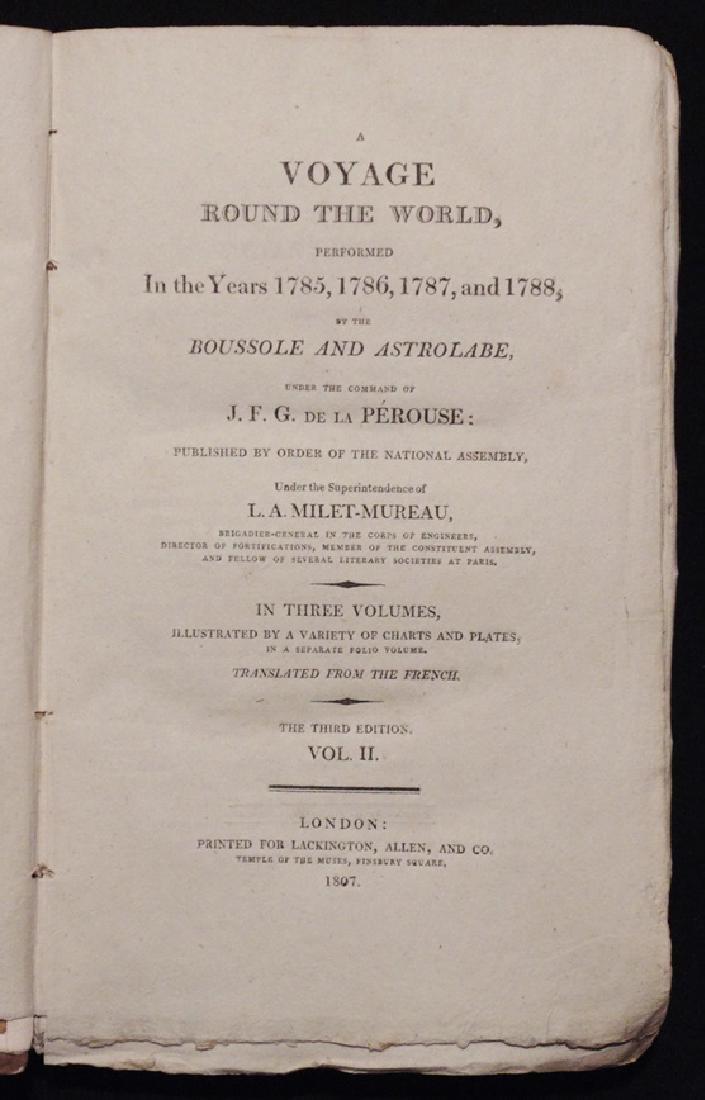 [Exploration, California] La Perouse's, Voyage - 5