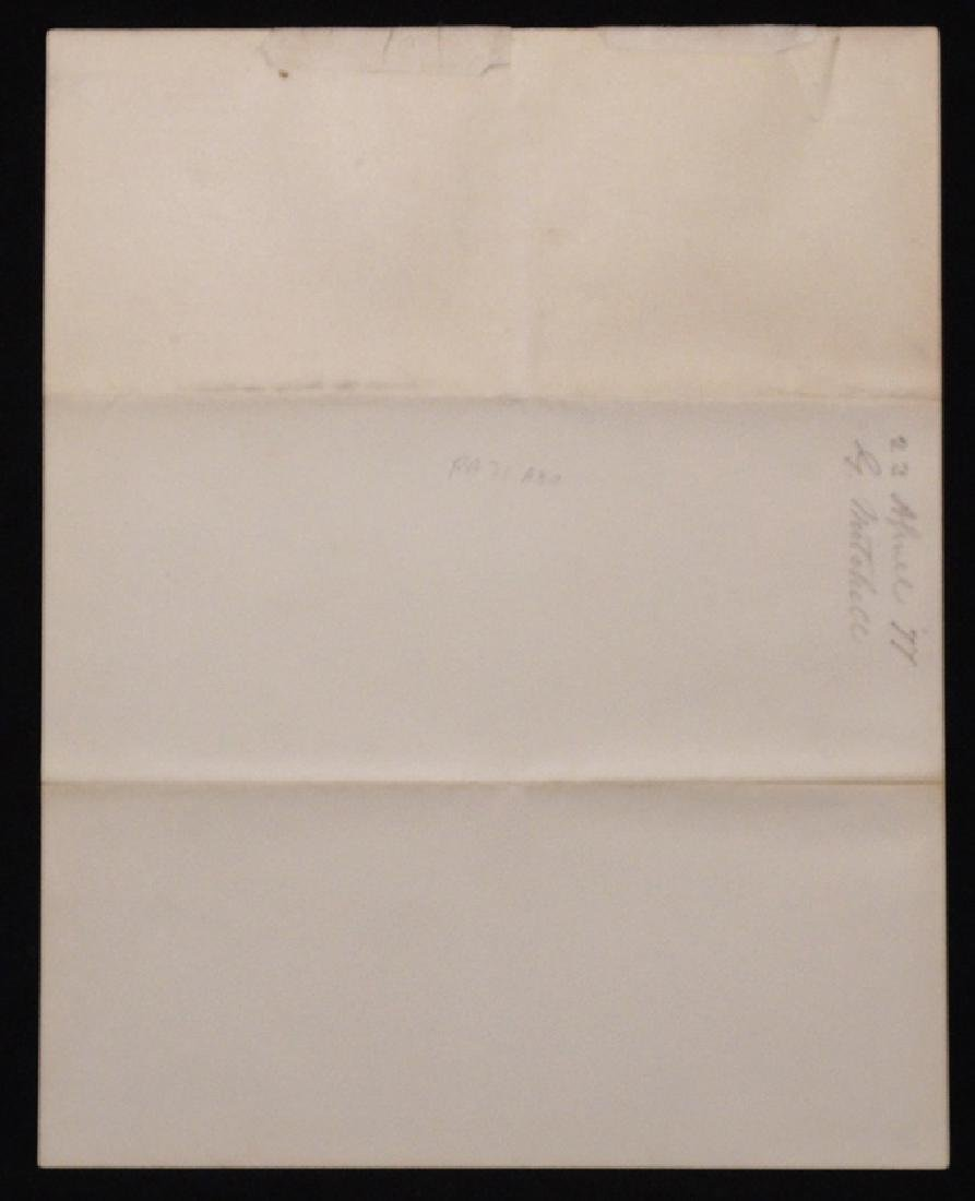 Hayes, Rutherford B.  Signed Document - 3
