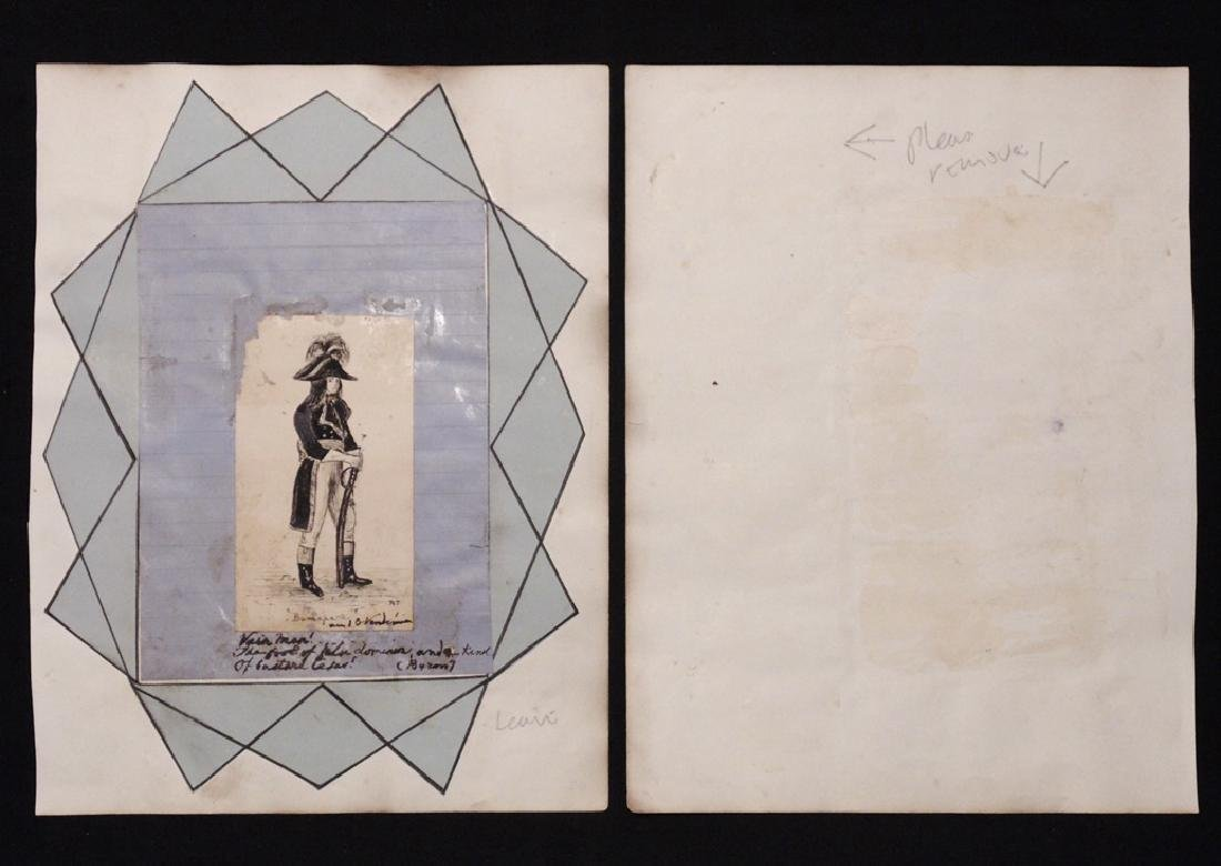Lafayette, Calling Card and Manuscript Letter - 5