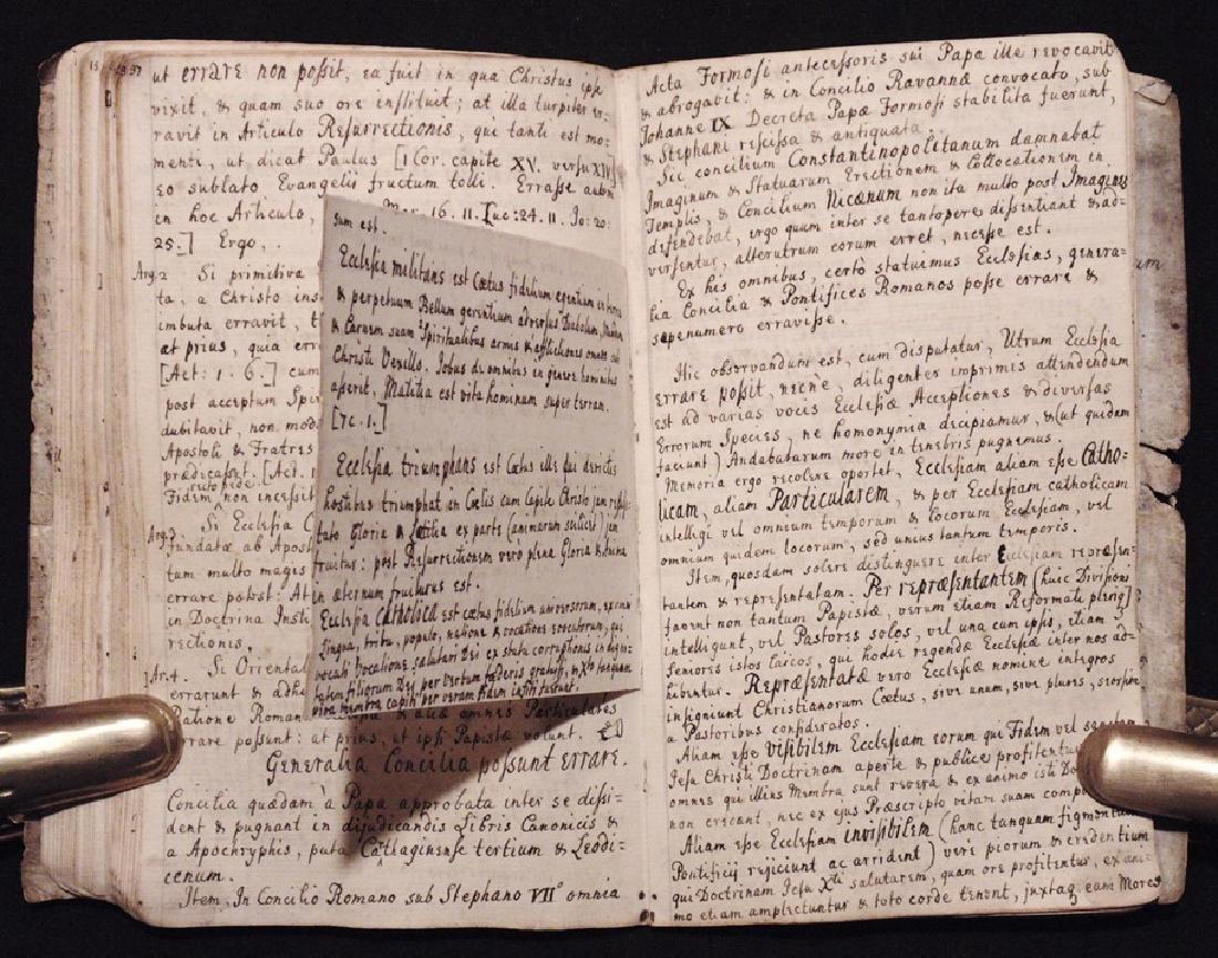 [Articles, Church of England]  Manuscript, ca. 1700