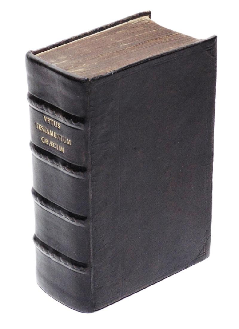 [Bible]  Old Testament in Greek, 1653