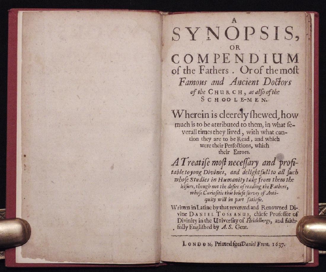 Tossanus' Compendium of Church Fathers