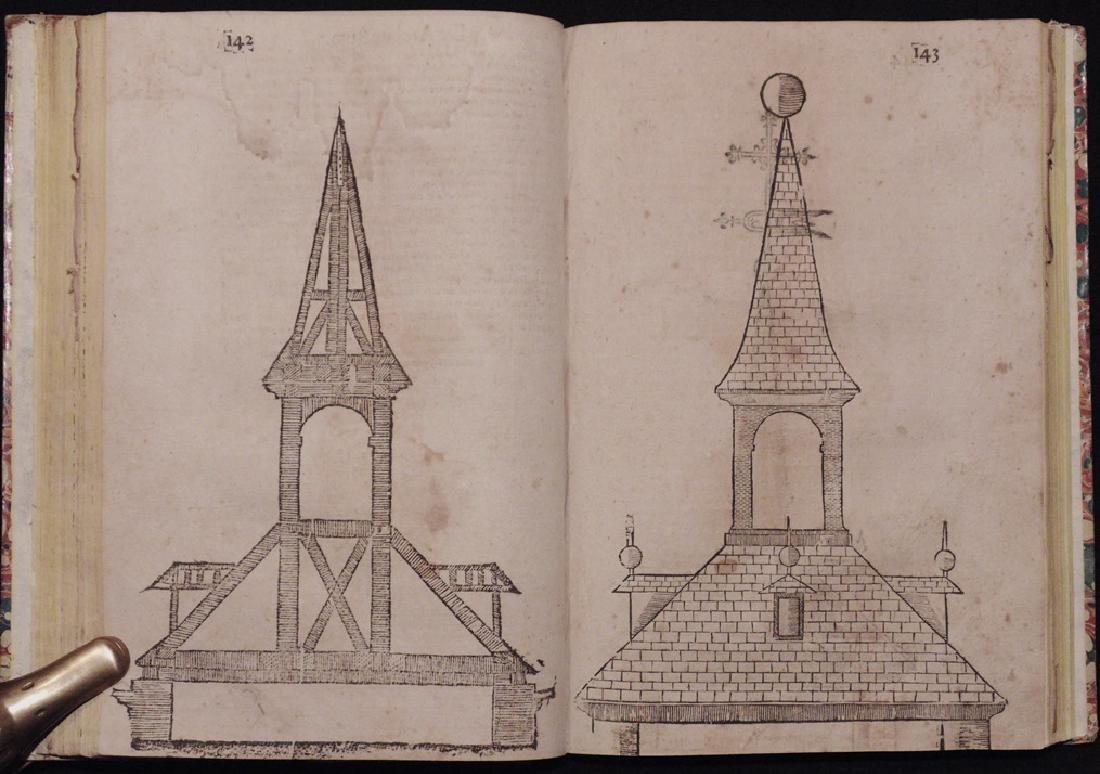 [Architecture, Geometry]  San Nicolas, Euclid, 1667