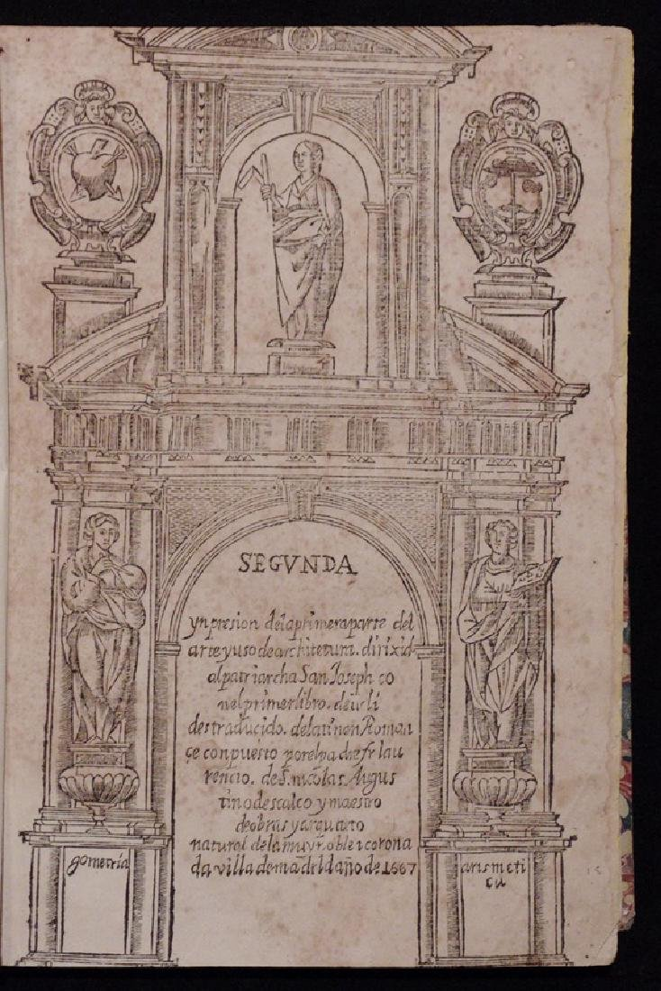 [Architecture, Geometry]  San Nicolas, Euclid, 1667 - 2