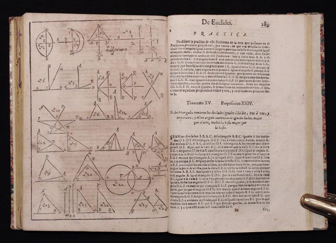 [Architecture, Geometry]  San Nicolas, Euclid, 1667 - 3