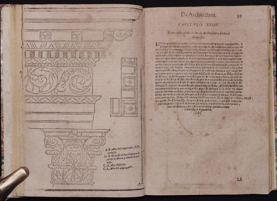 [Architecture, Geometry]  San Nicolas, Euclid, 1667 - 4