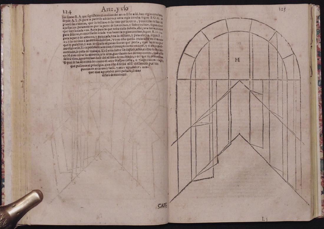 [Architecture, Geometry]  San Nicolas, Euclid, 1667 - 5