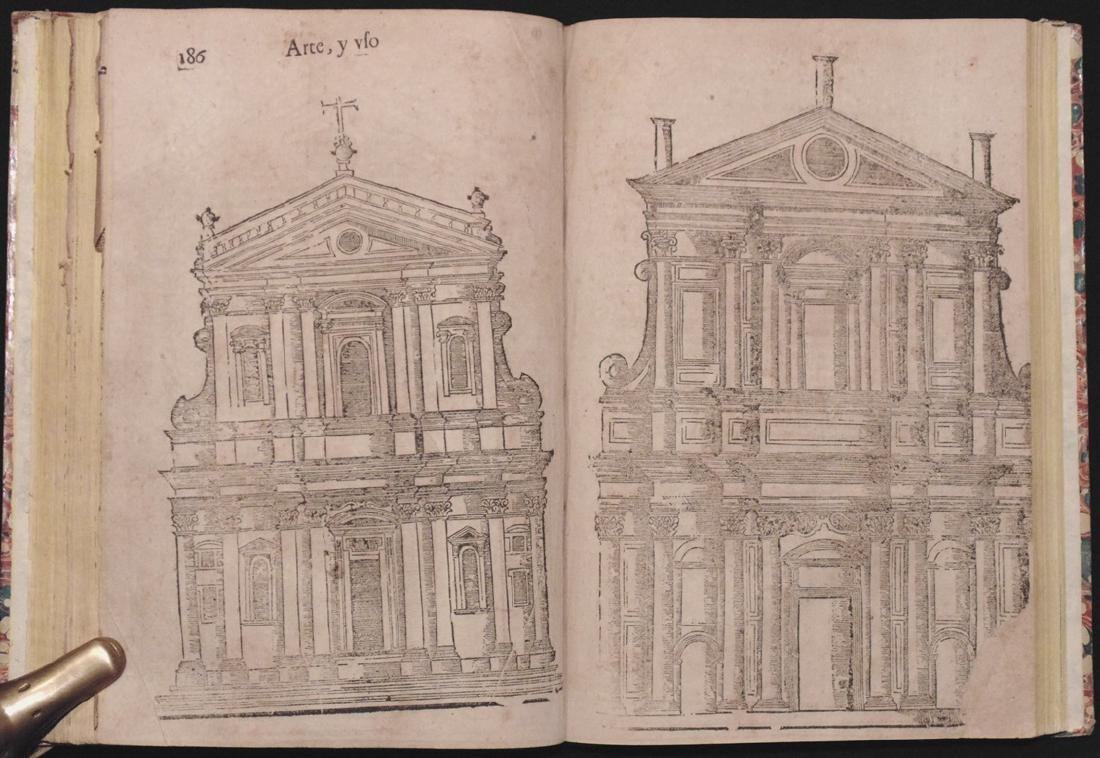 [Architecture, Geometry]  San Nicolas, Euclid, 1667 - 6