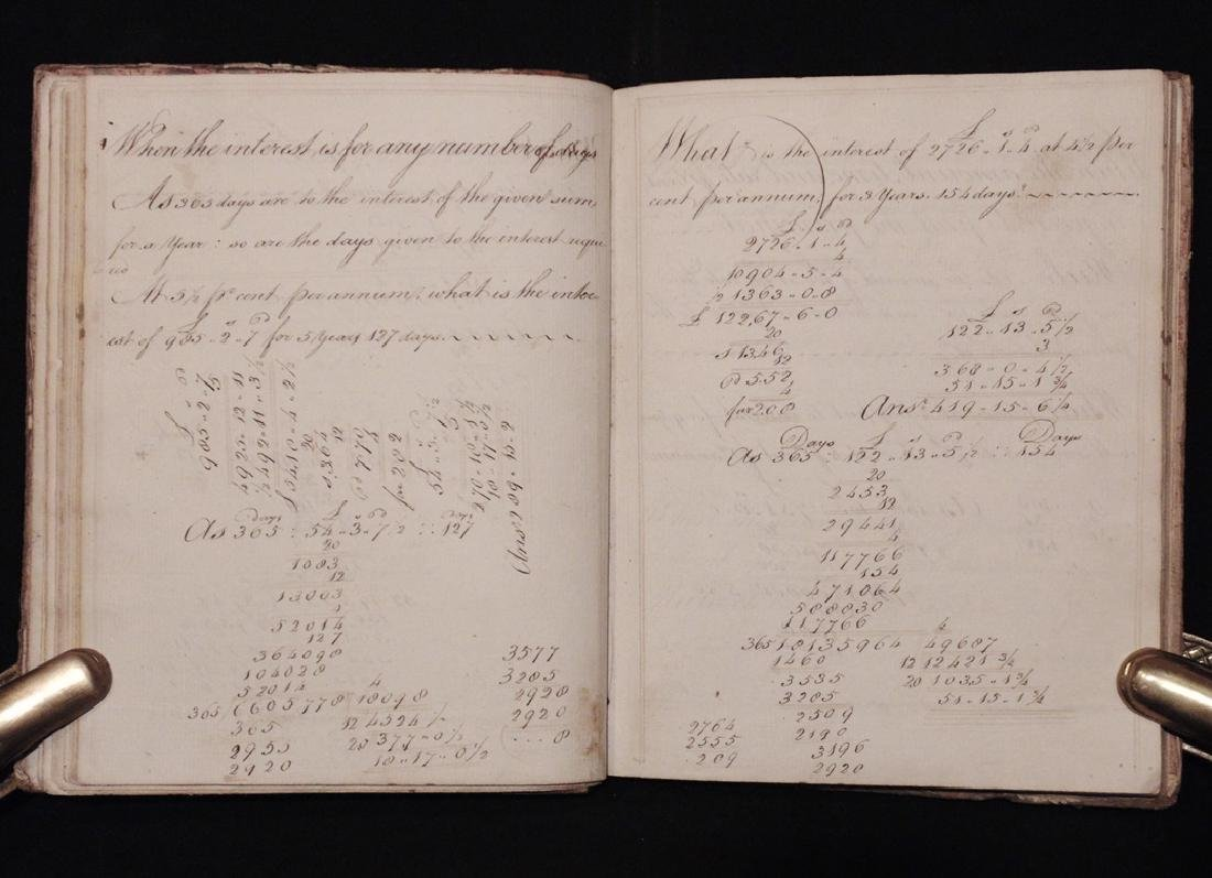 [Business, Arithmetic]  Manuscript, 1797 - 3