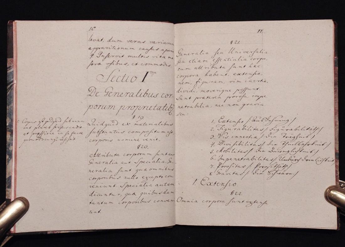 [Manuscript]  Elementa Physicae - 4