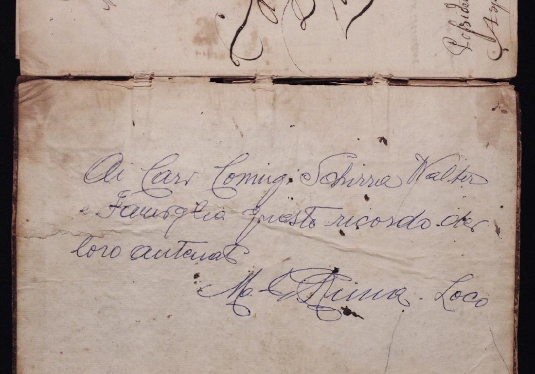 [Mathematics, Wally Schirra]  Manuscript, 1774 - 2