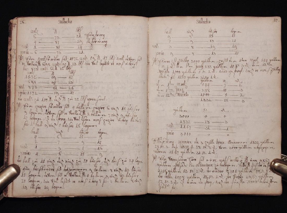 [Mathematics, Wally Schirra]  Manuscript, 1774 - 3