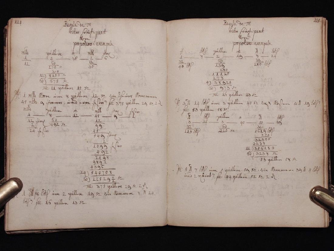 [Mathematics, Wally Schirra]  Manuscript, 1774 - 4