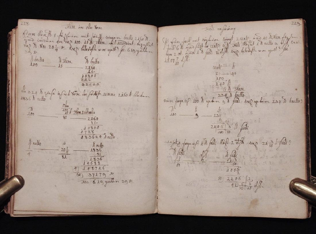 [Mathematics, Wally Schirra]  Manuscript, 1774 - 6