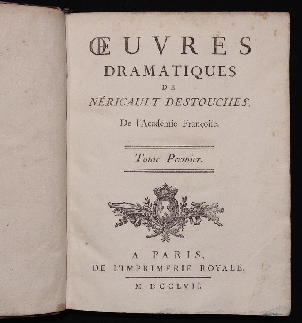 [Bindings, Provenance]  Works of Destouches - 4