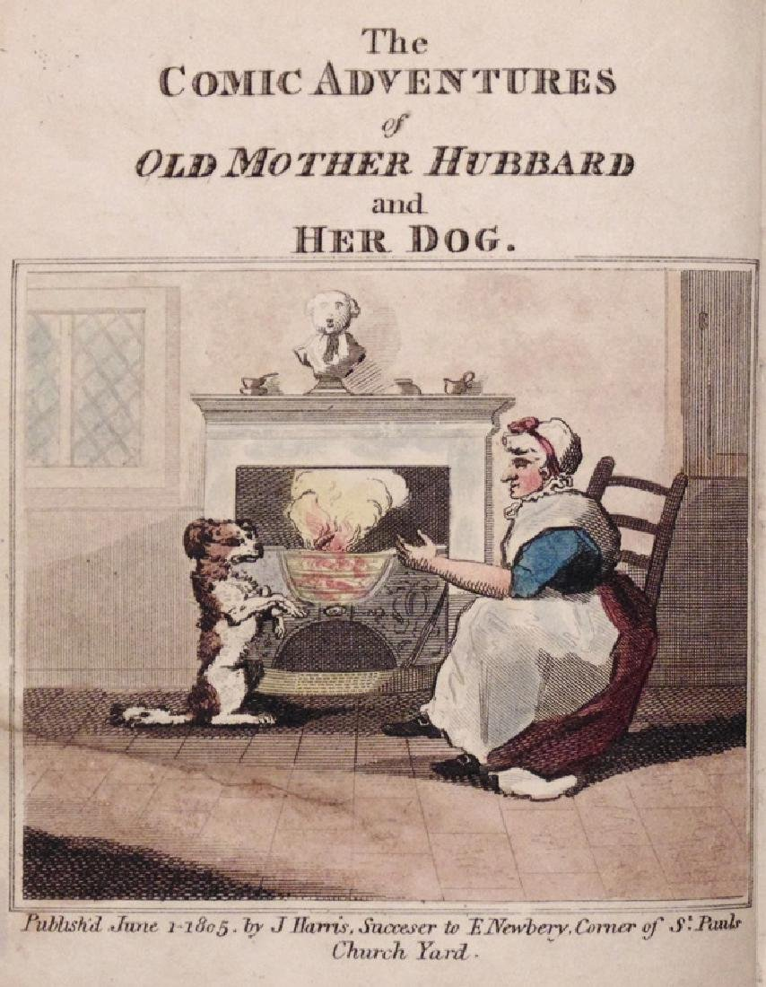 Comic Adventures of Old Mother Hubbard… 1805