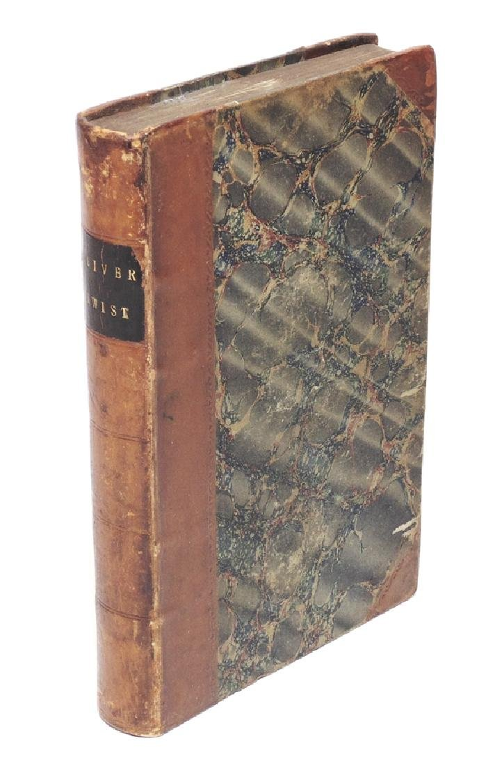 Dickens, Charles.  Oliver Twist, 1st ed.