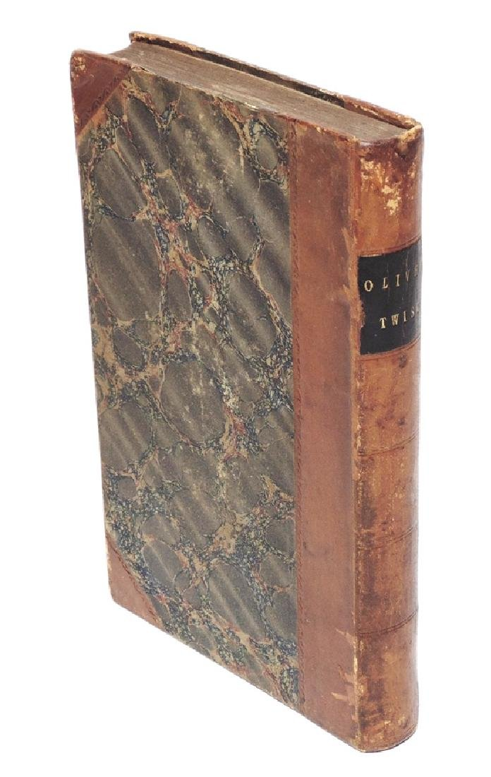 Dickens, Charles.  Oliver Twist, 1st ed. - 2