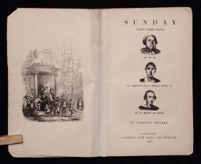 Dickens, Charles.  Sunday Under Three Heads