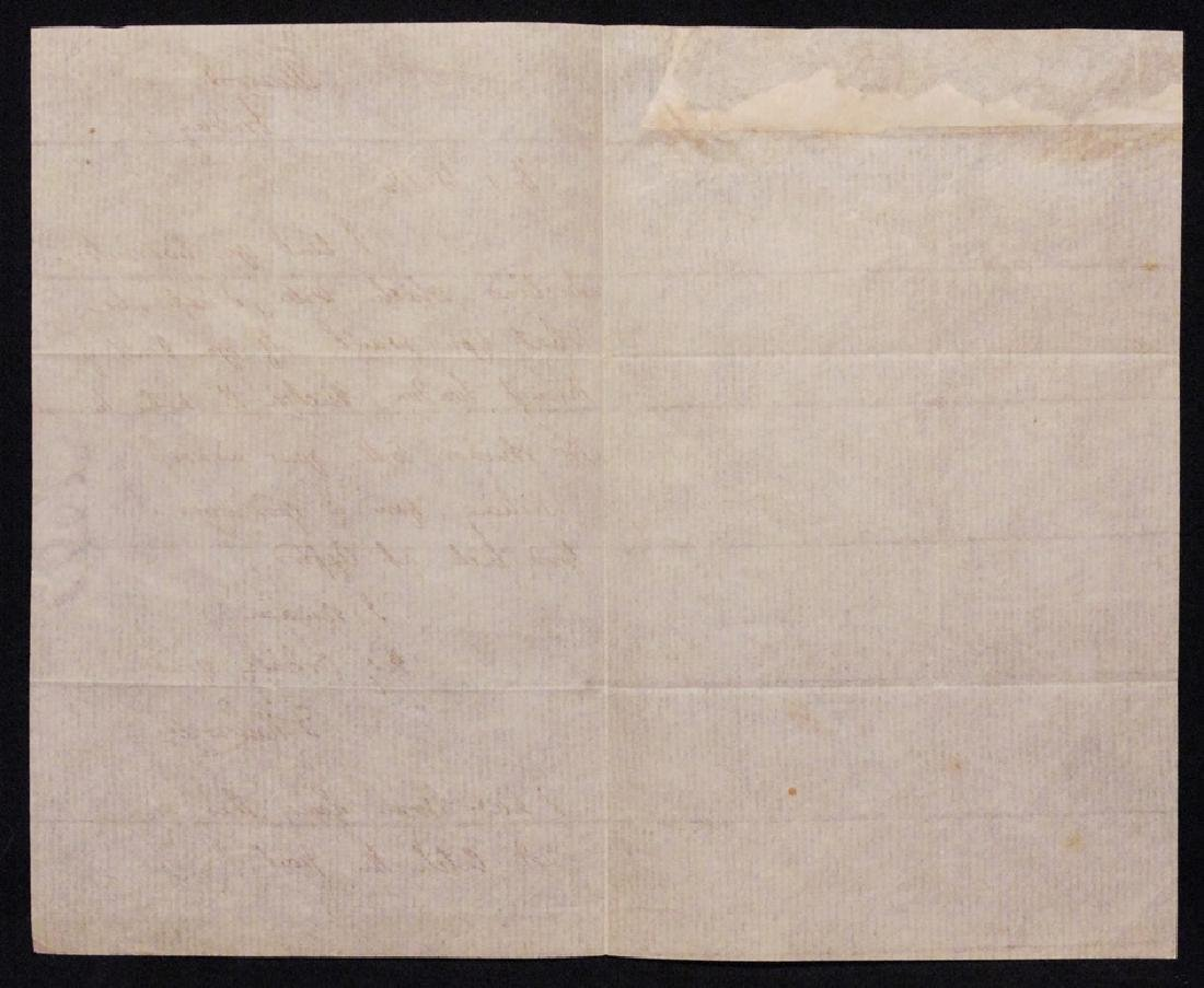 [James Lowell & R. W. Emerson]  Letter Signed - 4