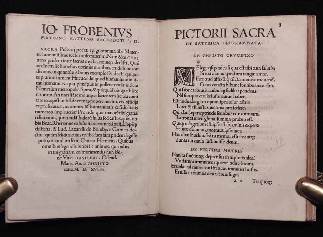 [Neolatin Poets]  Sacra et Satyrica Epigrammata - 4
