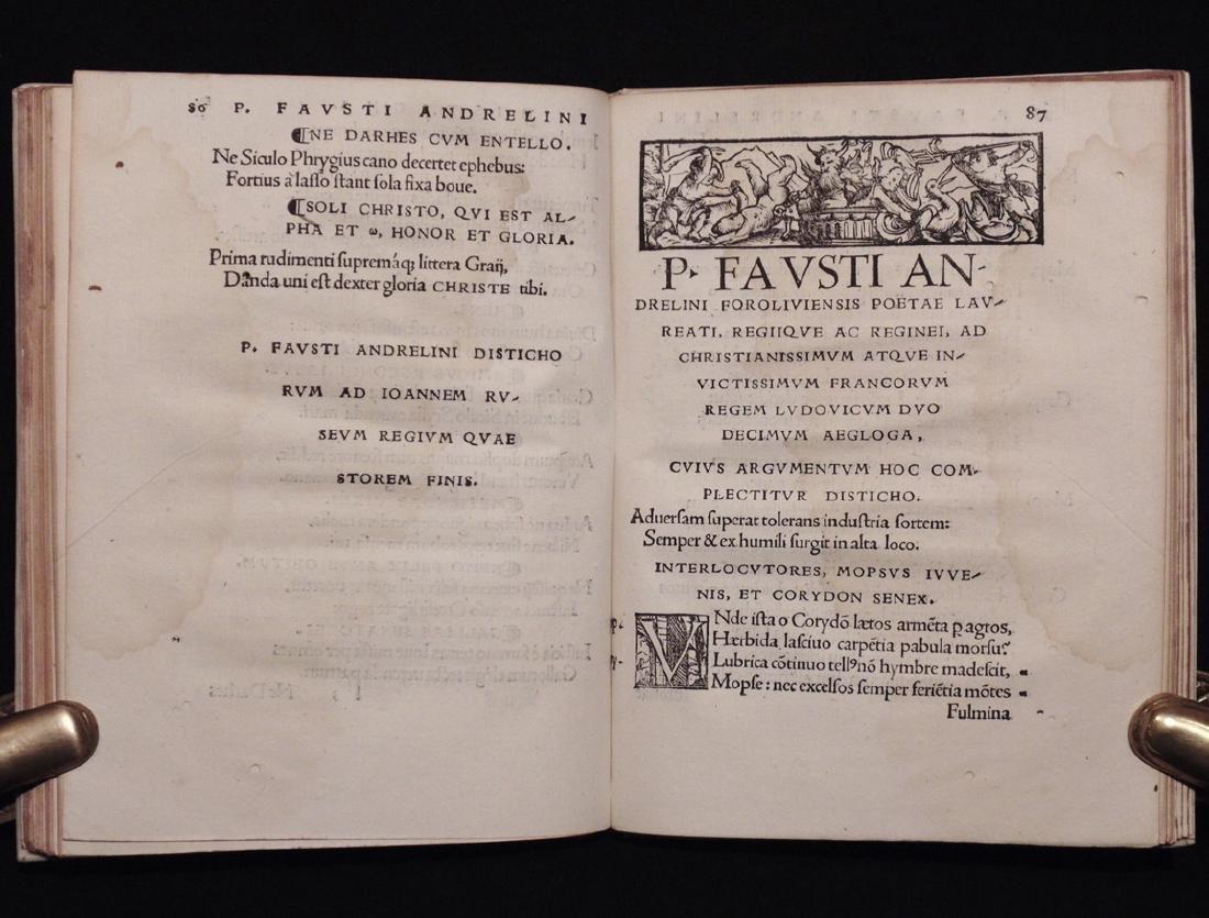 [Neolatin Poets]  Sacra et Satyrica Epigrammata - 7