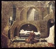 Shakespeare  Romeo  Juliet  Oil on Canvas