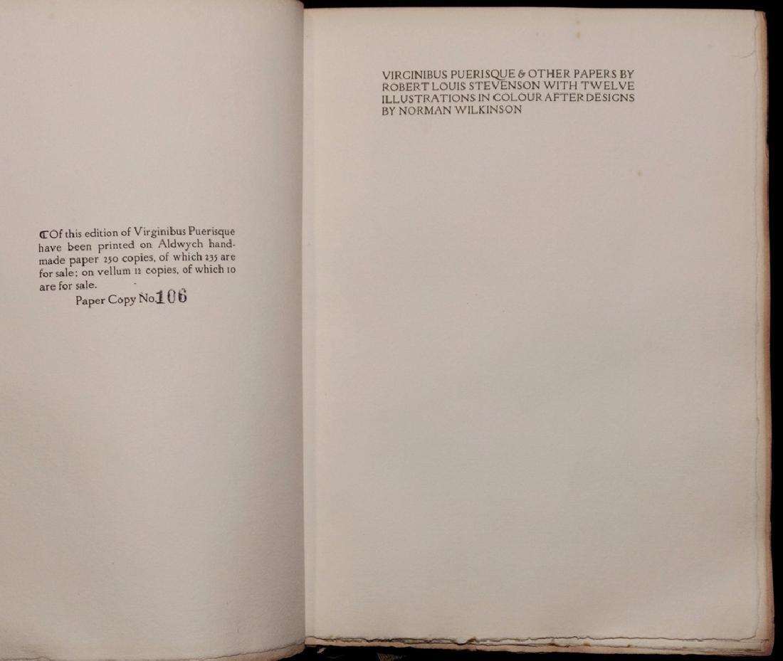 [Florence Press]  Stevenson's Virginus Puerisque - 2